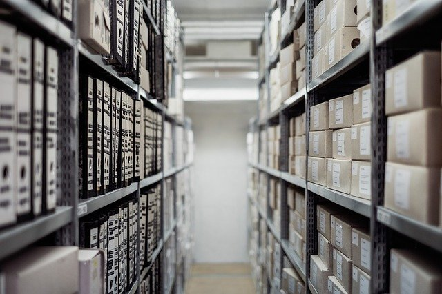 confidential document archiving facility