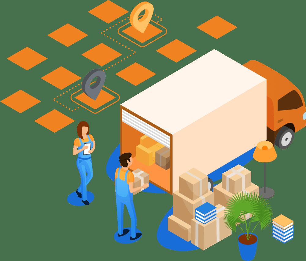 'Door-to-Door' storage
